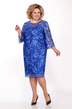 Платье LaKona 969 василек