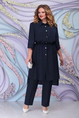 Блуза, брюки, кардиган Ninele Артикул: 2250 синий