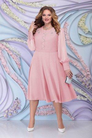 Платье Ninele Артикул: 2269 пудра