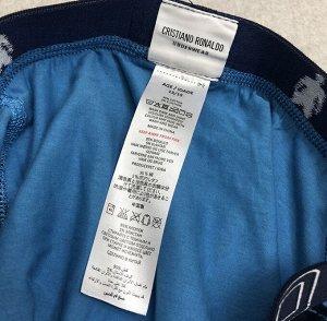 Боксеры 95% хлопок 5% спандекс Боксеры для мальчиков, отшиваются в Китае для бренда звезды футбола Роналду