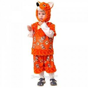 Карнавальный костюм Лисёнок Рыжик, рост 104 см (Батик)