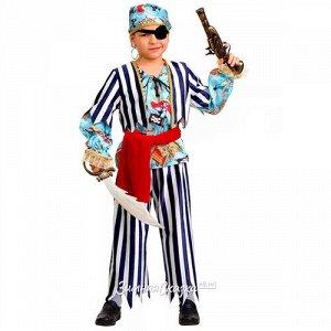 Карнавальный костюм Пират сказочный, рост 104 см (Батик)