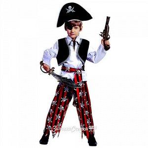 Карнавальный костюм Пират, рост 104 см (Батик)