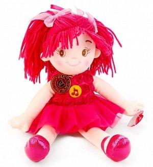 """Мульти-пульти. """"Мягкая кукла"""" стихи и песенки  А.Барто 35см в пак. арт.С7186-RU"""