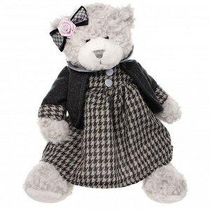 "Мягкая игрушка. Мишка ""Белла"" в одежде 25 см. арт.TS-A5530-35G"