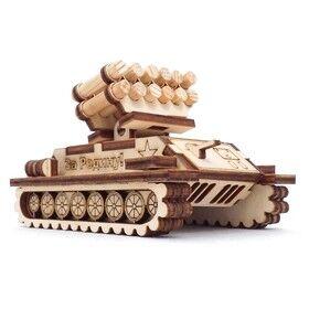 """Альтаир. Игрушка-конструктор """"Ракетная установка""""  (дерево) 43 дет., арт.СДМ-37к"""
