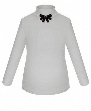 Светло-серая школьная блузка для девочки Цвет: светло-серый