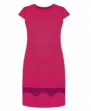 Малиновое нарядное платье для девочки Цвет: фуксия