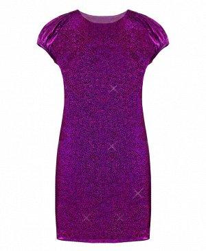 Пурпурное нарядное платье для девочки Цвет: фуксия