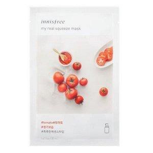 Маска на основе увлажняющей эссенции с натуральным томатным соком INNISFREE My Real Squeeze Mask Tomato