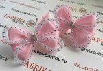 Бант для девочек Баттерфляй розовый