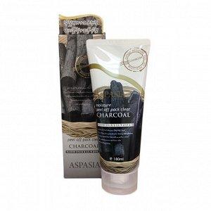 ASPASIA Маска-пленка для лица с черным углем Moisture Peel off Pack Clear, 180 мл