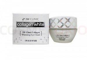 3W Clinic Крем для глаз Collagen Whitening Eye Cream, 35 гр
