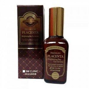 3W CLINIC Сыворотка для век Premium Placenta Brightening Day Eye Serum, 50 мл