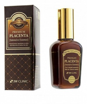 3W CLINIC Интенсивный тоник с плацентой Premium Placenta Intensive skin, 145 мл