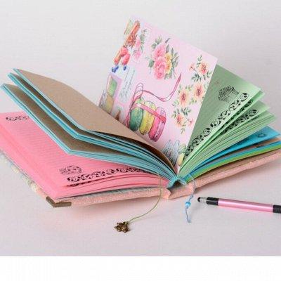 Удобная закупка. Все в одном месте, швабры, канц.товары .... — Красивые блокноты! — Офисная канцелярия