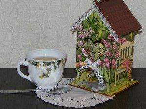 """Чайный домик """"Сердечко"""""""