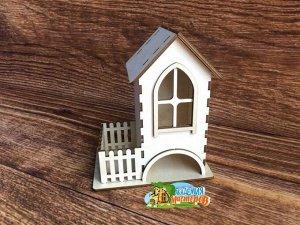 Чайный домик с забором
