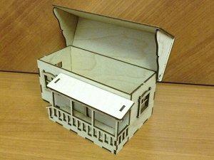 Чайный домик с крыльцом