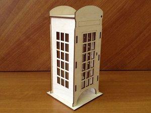 """Чайный домик """"Телефонная будка"""""""