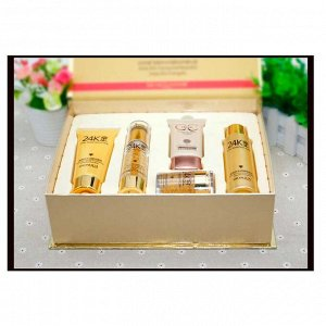 ANJО Professional Уходовый набор кремов с биозолотом 24K Gold Skin Care 6 SET