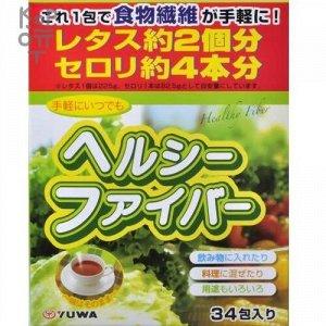 """Концентрат для приготовления безалкогольных напитков """"Здоровые волокна"""" Yuwa Healthy Fiber  (5гр.*34шт.)"""