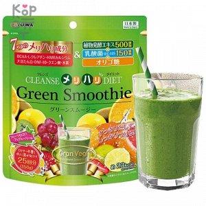 """Концентрат для приготовления безалкогольных напитков """"Зеленый смузи"""" 150 гр. Yuwa Green Smoothie"""