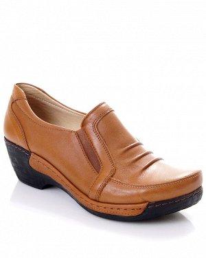 Туфли Страна производитель: Турция Размер женской обуви x: 36 Полнота обуви: Тип «F» или «Fx» Сезон: Весна/осень Тип носка: Закрытый Форма мыска/носка: Закругленный Каблук/Подошва: Танкетка Высота каб
