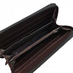 Стильный женский кошелек Lavelly из эко-кожи пудрового цвета на молнии