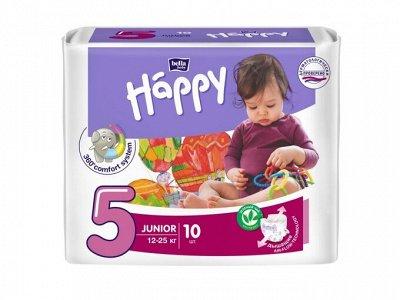 Чистота залог здоровья! — Подгузники детские Happy Junior (12-25 кг) — Подгузники