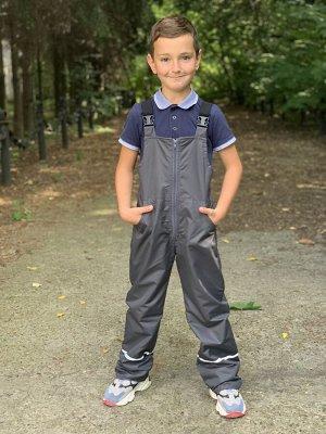 Полукомбинезон на флисе для мальчика