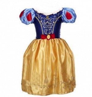Детское платье, разноцветное, платье принцессы