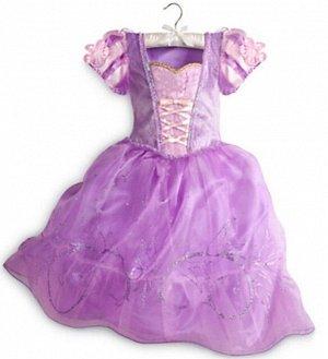 Детское платье, сиреневое