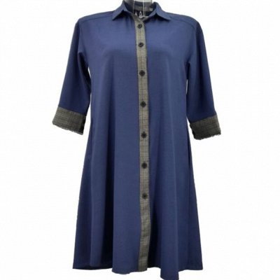 Джинсовая одежда Plus Size — Женская одежда Casual до 56 размера - Платья — Повседневные платья