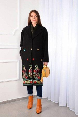 Пальто Пальто LM WO18  Рост: 164-170 см.  Пальто прошивается на заказ в течении 10 дней! Пальто женское с поясом, отрезное по линии талии, однобортное, на подкладке. Линия плеча спущена, рукав прямой