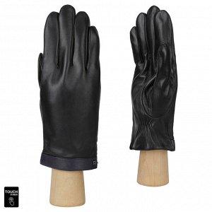 Сенсорные мужские перчатки FABRETTI S1.32-1/11 black/blue