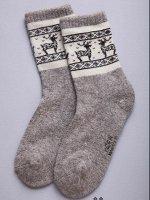 Носки из 100% монгольской шерсти