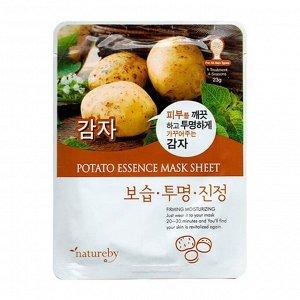 Natureby Маска для лица с экстрактом картофеля 23гр
