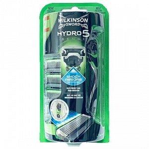 Wilkinson Sword Hydro5 SENSE бритвенный станок с подвижным элементом и 5 сменными кассетами