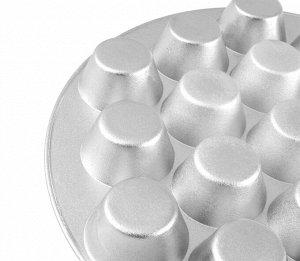 """Кексница Кексница """"Kukmara"""" изготовлена из литого алюминия, проста и удобна в использовании.  Преимущества кексницы """"Kukmara"""": -значительная толщина формы исключает деформацию корпуса кексницы, гарант"""