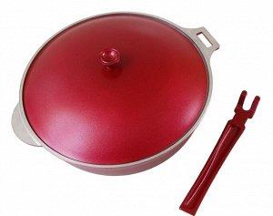Сковорода-сотейник съемная ручка 26см