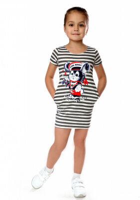 Платье Колокольчик ( моряк )