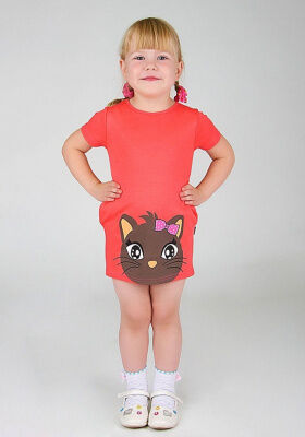 Платье Котик (Без рукавов)