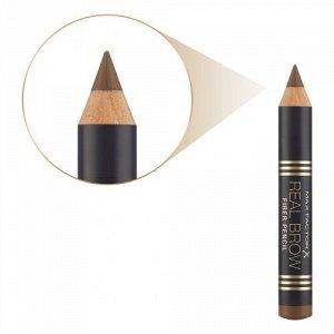.Mакс Фактор кар д/ бров  Real Brow Pencil т 001 light brown