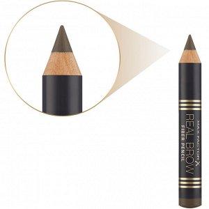 .Mакс Фактор кар д/ бров  Real Brow Pencil т 003 medium brown