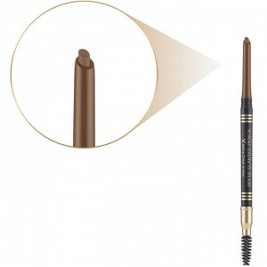 .Mакс Фактор кар д/ бров с щет Brow Slanted Pencil 02 soft br