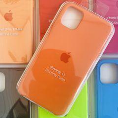 Силиконовый чехол для Iphone 11 №13 (все наклейки,лого вырезан, микрофибра,не пачкается,улучшенное качество)