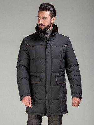 4046 SP M RIB BLACK BROWN/Куртка мужская (пуховик)