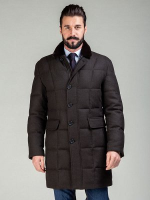 4070-1SPW M MUNCHEN SINES DK BROWN/Куртка мужская (пуховик)