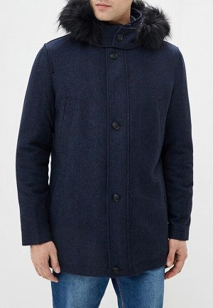 2052У M TADDEO DK NAVY/Пальто мужское